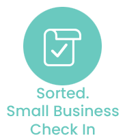 Sorted. Small Business Check In
